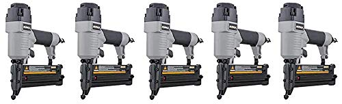 NuMax S2-118G2 Pneumatic 2-in-1 18-Gauge 2 Brad Nailer and Stapler Ergonomic Lightweight Pneumatic Combo Brad Staple Gun with Depth Adjust Fiv k