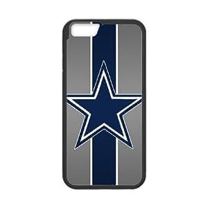 Dallas Cowboys iPhone 6 Plus 5.5 Inch Cell Phone Case Black 218y3-214795