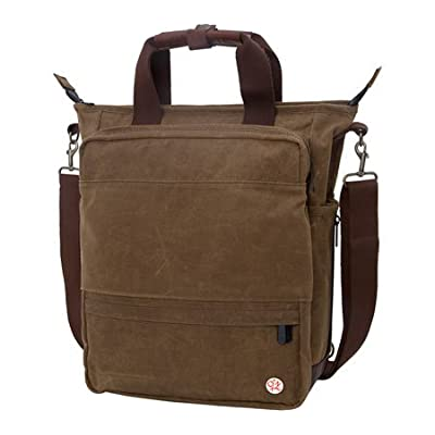 Token Bags Waxed Fordham Convertible Bag, Field tan, One Size