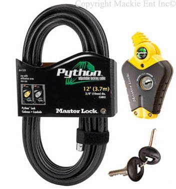 (Master Lock - (1) Python Adjustable Cable Lock, 8413KACBL-12)