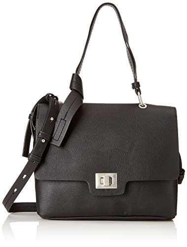 Bag Hombro black Shoulder Shoppers Y oliver Mujer De Bolsos S Negro bags qpw6Et