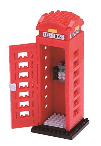 Nanoblock Telephone Box Building Kit