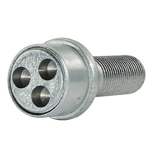 FARAD 1/ /-C3/SB 1/CH.SP Stil Bull Antifurto Ruote per Autovetture C3/Bloccadisco con bulloni di fissaggio per auto