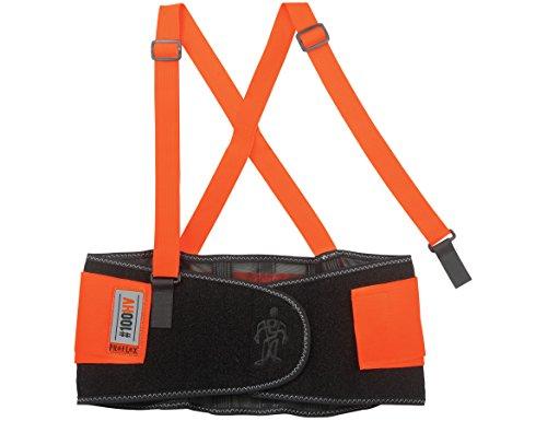 Ergodyne ProFlex 100HV Economy Hi-Vis Back Support Belt, Large, Orange by Ergodyne (Image #6)