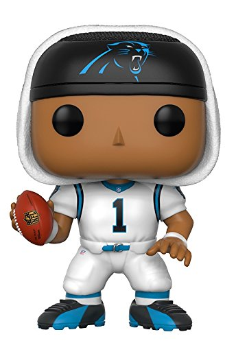 Price comparison product image Funko Pop NFL: Cam Newton (Panthers White) Collectible Figure