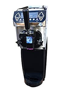 Compact Commercial Soft Serve Ice Cream, Frozen Yogurt, Gelato, Sorbet Machine - 7 Quart Capacity