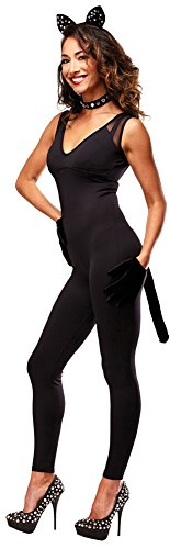 BESTPR1CE Womens Halloween Costume- Naughty Kitty Adult Costume Accessory Kit -