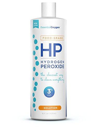 Food Grade Hydrogen Peroxide 3 Percent Cleaner, 16 Fluid Ounce