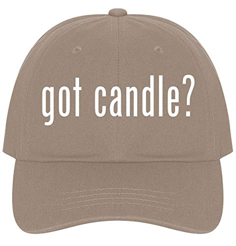 The Town Butler got Candle? - A Nice Comfortable Adjustable Dad Hat Cap, Khaki