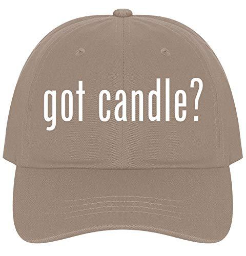 - The Town Butler got Candle? - A Nice Comfortable Adjustable Dad Hat Cap, Khaki
