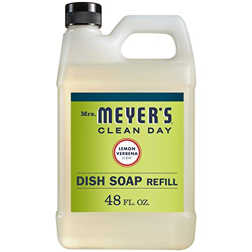 Mrs. Meyer's Liquid Dish Soap Refill, Lemon Verbena, 48 OZ ()