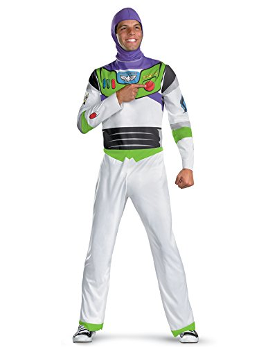 Cheap Buzz Lightyear Costumes (Toy Story Movie Costumes Buzz Lightyear Costume Astronaut Costume Hero Sizes: X-Large)