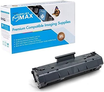 2500 Page Yield - Equivalent to HP C4092A // HP NO 92A SuppliesMAX Compatible Replacement for Xerox 006R00927 Toner Cartridge