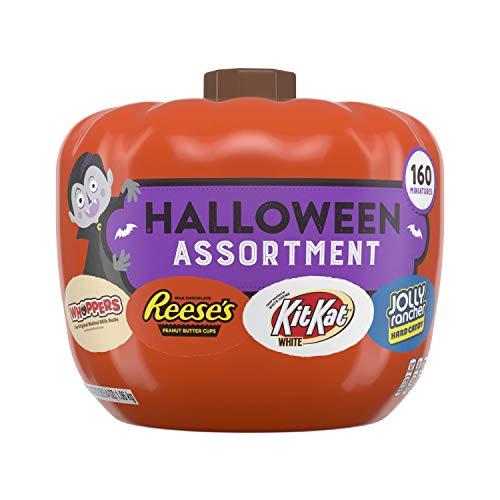 The Best Halloween Pumpkins (HERSHEY'S Halloween Candy Assortment Pumpkin Bowl (REESE'S, KIT KAT, WHOPPERS, JOLLY RANCHER), 37.4)