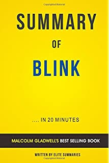 The tipping point by malcolm gladwell summary analysis elite summary of blink by malcolm gladwell includes analysis fandeluxe Choice Image