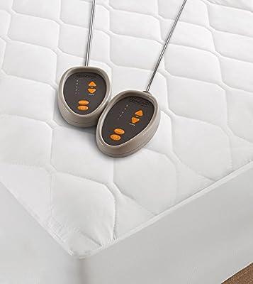 Beautyrest Heated Microfiber Mattress Pad with 3M Scotchgard