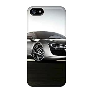 Bumper Cell-phone Hard Covers For Iphone 5/5s (IEq16733WrFN) Customized Lifelike Audi R8 Series