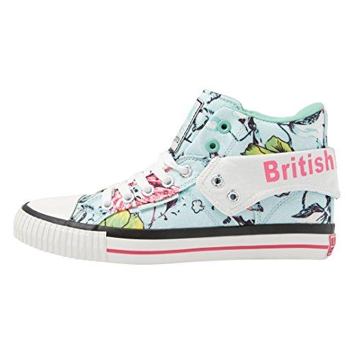 British Knights Roco - Zapatillas Mujer Verde