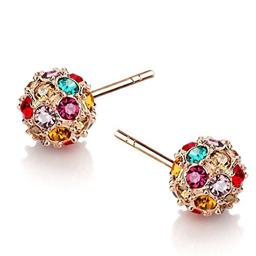 time-pawnshop-elegant-colorful-cubic-zirconia-globular-charm-lady-stud-earrings
