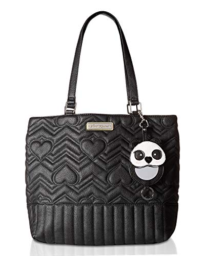 Betsey Johnson Women's Large Tote Black One ()