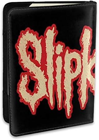 SlipKnot スリップノット (1) パスポートケース メンズ レディース パスポートカバー パスポートバッグ ポーチ 6.5インチ PUレザー スキミング防止 安全な海外旅行用 収納ポケット 名刺 クレジットカード 航空券