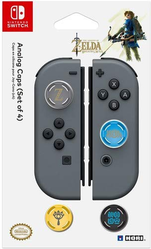 HORI Nintendo Switch Analog Caps (Legend of Zelda Edition) Set of Four Officially Licensed By Nintendo - Nintendo Switch ()