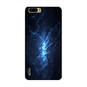Cover It Up - Blue Stars Honor 6 Plus Hard Case