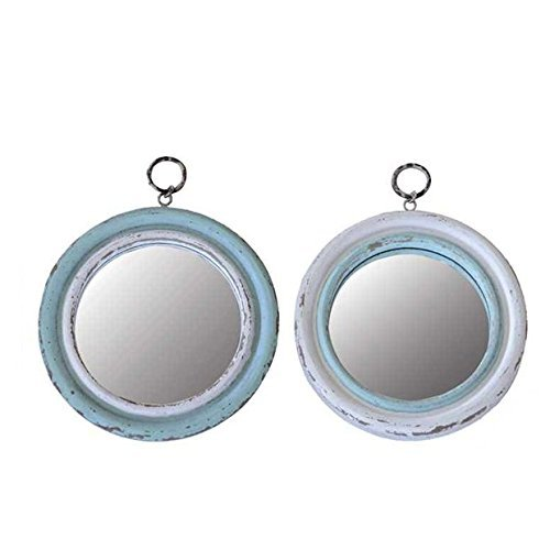 Wood Framed Mirror - Set of 2 by Creative Co-op (Image #1)