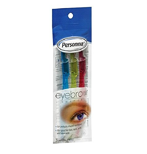 Persona Disposable Eyebrow Shapers, 3 Each - 2pc