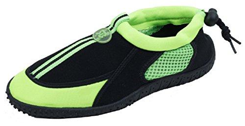 Starbay neue Marke Frauen sportlich Wasser Schuhe Aqua Socken Grün 2905