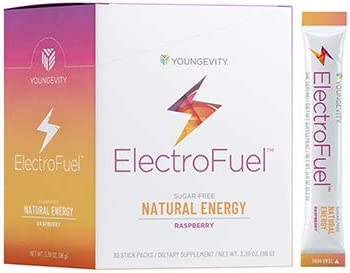 M Stiks Youngevity ElectroFuel Natural Energy Drink Mix