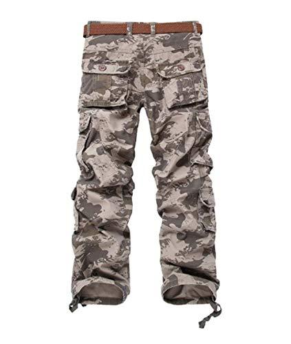 Uomo Combattimento Das Trekking Da Wie Lavoro Per Sciolti Bild Pantaloni Tempo Semplice Libero Crystallly Il Stile 6xwAXtqq