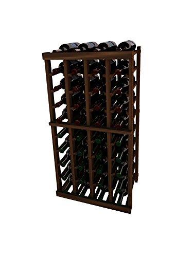 Vintner 3 Series - Vintner Series Wine Rack - 4 Column - 3 Ft - Mahogany Dark Walnut Stain