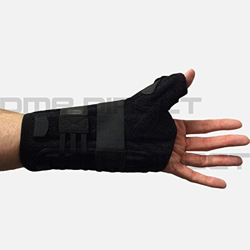 455-RT Orthosis Thumb Titan Felt Right Black Part# 455-RT by Hely & Weber Qty of 1 Unit by USA