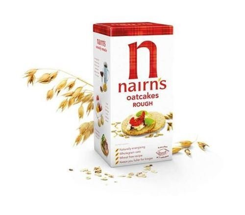 Nairn's Rough Oatcakes 291g (Pack of 6 x 291g) NAIRN' S OATCAKES
