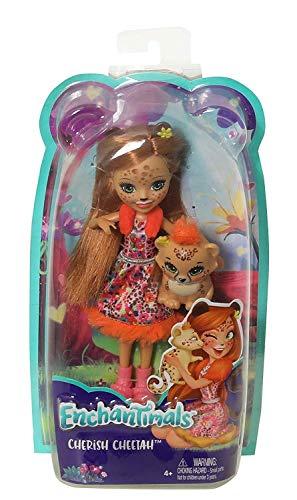 Enchantimals – Muñeca Cheris Cheetah – muñeca – (Mattel FJJ20)
