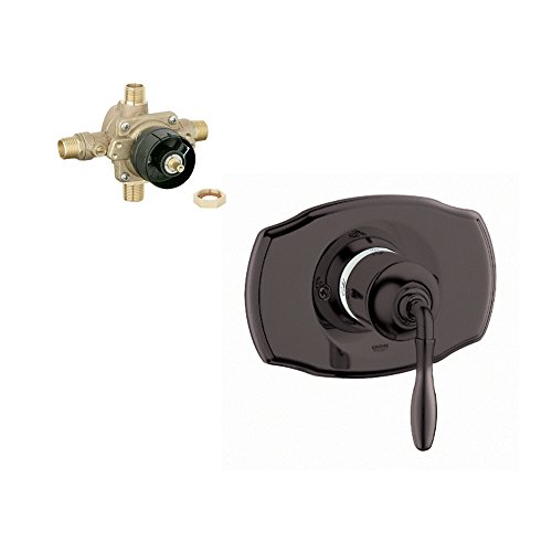 Grohe K19708-35015R-ZB0 Seabury Tub and Shower Valve Kit, Oil Rubbed Bronze