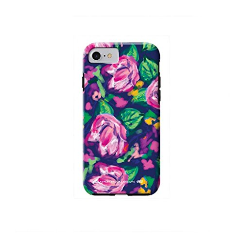 Ashley Brooke Designs Navy Floral iPhone