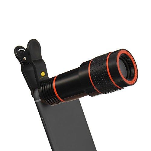 Smart Phone Camera Lens Kit, High-Grade 12X Universal Optica