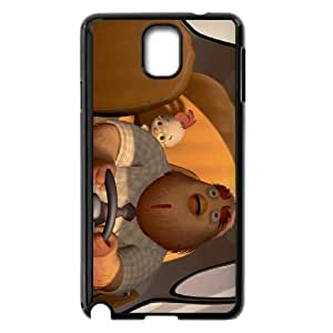 Samsung Galaxy Note 3 Cell Phone Case Black Disney Chicken Little Character Buck Cluck as a gift T5586805