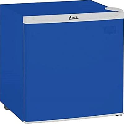 "Avanti RM17B5BF 18.75""/1.7 cu. ft. Compact Refrigerator, Blue"