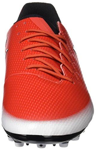 adidas Messi 16.3 Ag, Zapatillas de Fútbol para Niños Rojo (Red/core Black/footwear White)