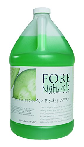 Fore Naturals Kiwi Cucumber Body Wash (Gallon)