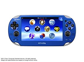 PlayStation Vita, WiFi Sapphire Blue, Japanese Version