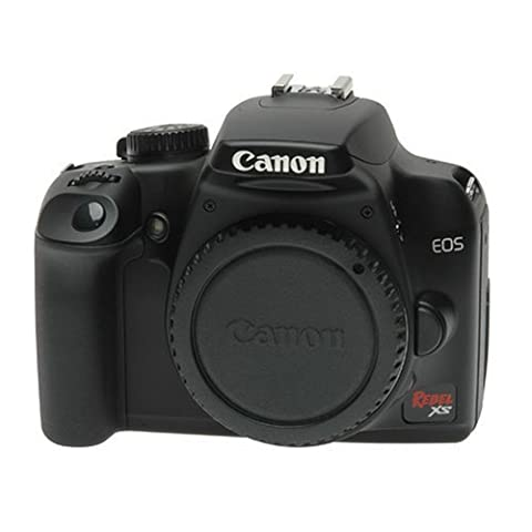 Canon EOS Rebel XS 10.1-Megapixel Digital SLR Camera - Black (Body Only) (Digital Rebel Body)