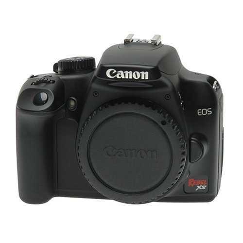 Canon EOS Rebel XS 10.1-Megapixel Digital SLR Camera – Black (Body Only)