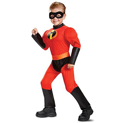 Incredible Costumes For Family (Disney Pixar Dash Incredibles 2 Muscle Toddler Boys')