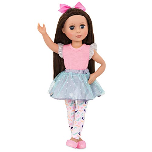 c4b13d64b Glitter Girls Dolls by Battat - Candice 14-inch Poseable Fashion Doll -  Dolls for Girls Age 3 and Up