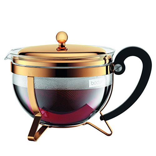 Bodum 11656-17 Chambord Tea Pot, Large, Gold