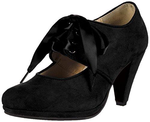 Andrea Conti 0591504 - Tacones Mujer Negro - Schwarz (schwarz 002)